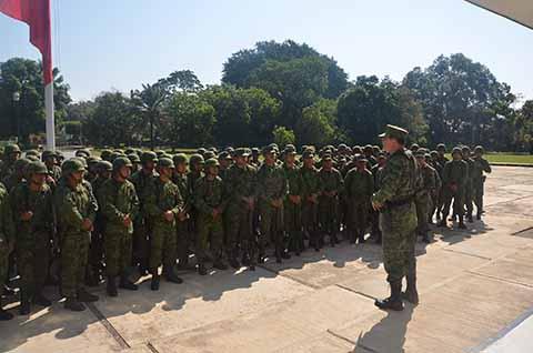 Inauguran Primera Competencia de Orden Cerrado Liderazgo en la XXXVI Zona Militar
