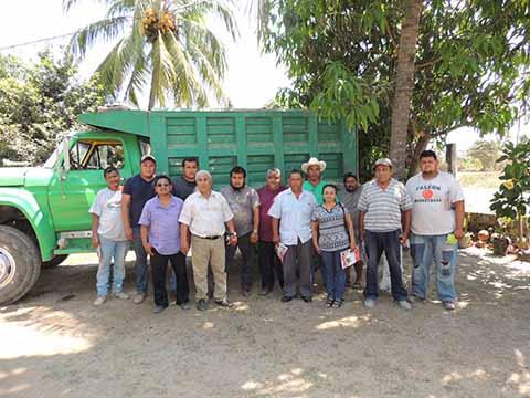Camioneros Desplazados de la Obra Pública en Suchiate