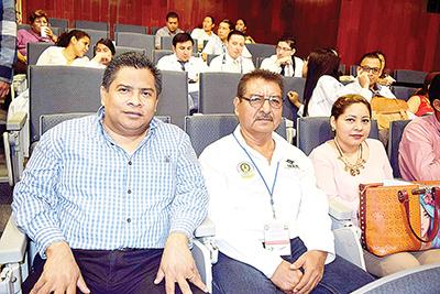 Fidias Morales, Arnulfo Aquino, Luisa Juárez.