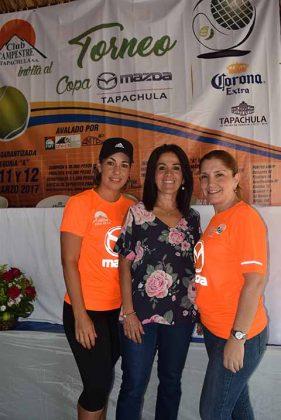 Vera Parlange, Pilar Morales, Luz María D´Argance.