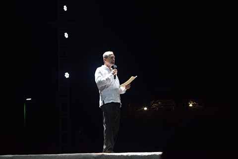 El Presidente del Consejo de la FTM 2017: Antonio D´Amiano Gregonis, dio la bienvenida a la muestra.