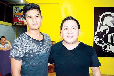 Kevin Rodríguez, Alexis Guzmán.