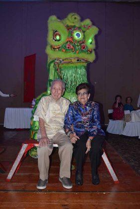 Juan Chang & Lucía de Chang.