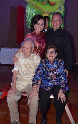 Diana de Chang, José Chang, Juan Chang, Lucia de Chang.