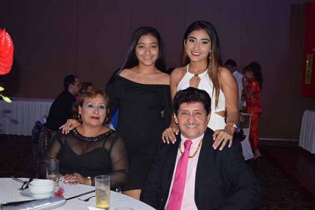 Quina Sanabria, Hanna, Adriana, José Alfredo Ocaña.