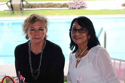 Erika Pinson, Luisa de Rincón.