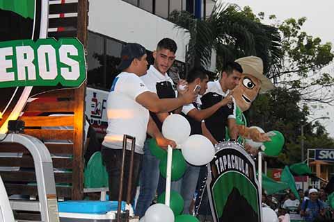 Equipo de Futbol Profesional de Primera A, Cafetaleros de Tapachula.