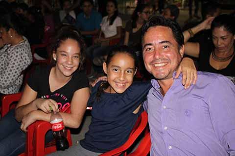 Sofía Ramírez, Daniela, Alberto Aceves.