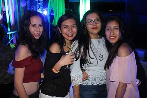 Scarlett Villalobos, Alexa Palagot, Brenda Nolasco, Ana Paulina.