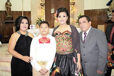 Blanca Nolasco, David, Dayani, David Victorio.