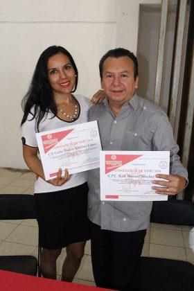 Leslie Sánchez, Rolfi Sánchez.