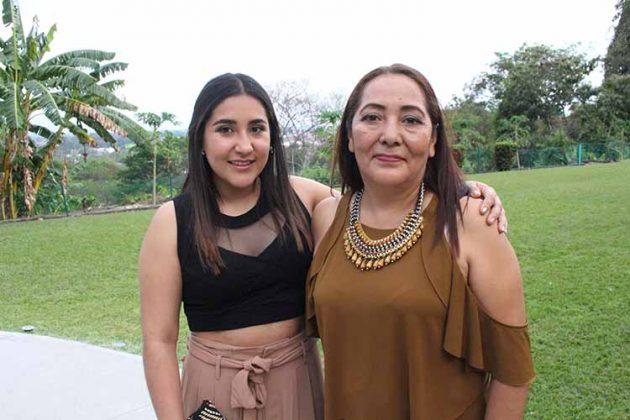 Daniela Gutiérrez, Leticia Cortés.