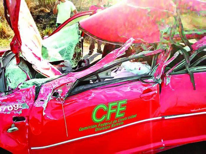 Muere Empleado de CFE en Accidente