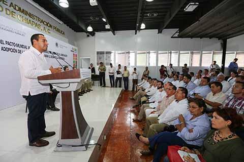 Chiapas, de los Primeros Estados en Incluir los ODS Dentro de su Carta Magna: ERA