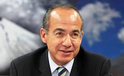 Calderón le Cuesta 1 Mdp al Mes a México