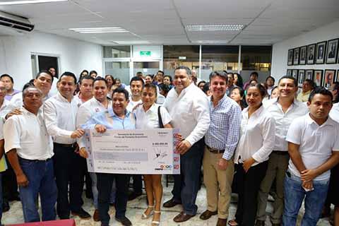 Fortalece Fofoe a Comerciantes y Empresarios de Tapachula