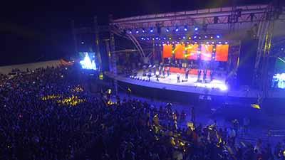 Debido a la publicación de EL ORBE, sobre la inconformidad de la ciudadanía, el concierto de Mon Laferte se llevará a cabo en el Masivo de la Mesoamericana.