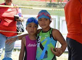 Silvia Ayelen Guerrero Gómez, primer lugar en Ironkids Triatlón Cross