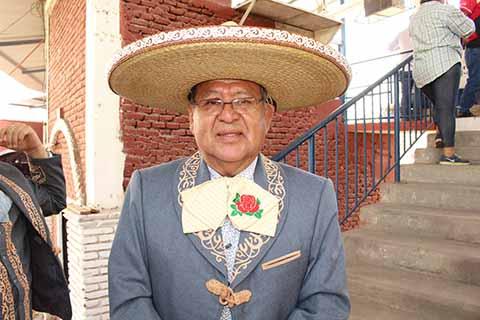 Juan Carlos Duque Gallegos, presidente de los charros de Tapachula.