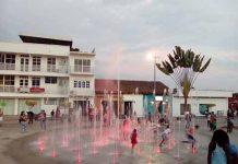 La Población Daña Fuente del Parque Bicentenario