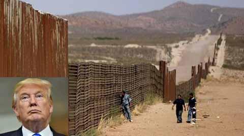 Republicanos Aplazan Muro de Trump Hasta 2018