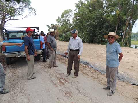 CONAGUA Destruye Espigones de Protección en el Río Suchiate