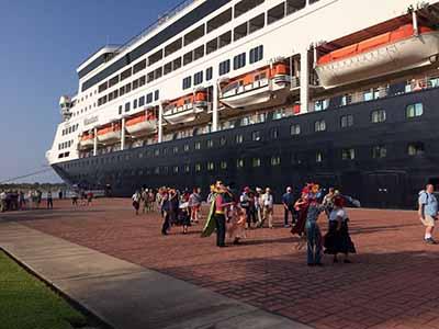 Arriba a Puerto Chiapas el Crucero Ms Maasdam