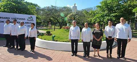Conmemora Aniversario Luctuoso de Don Salomón González Blanco