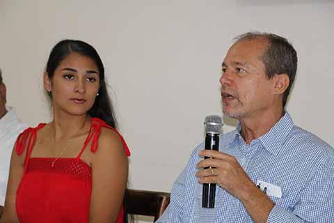El presidente del máximo escaparate cultural de la Frontera Sur, Antonio Damiano Gregonis, dio a conocer los menores de la muestra, que iniciará con la coronación de la reina María Isabel I.