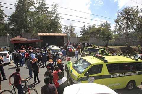 Incendio en Albergue de Guatemala Registra 21 Niñas Fallecidas y 40 Heridas