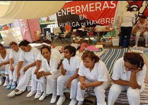 """Concluyen Huelga Enfermeras del Hospital """"Rafael Pascasio"""""""
