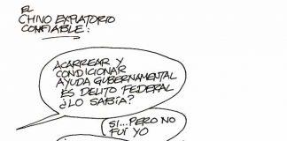 EL CHIVO EXPIATORIO CONFIABLE...