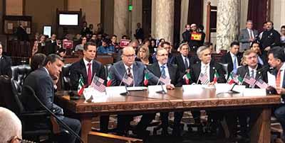 """Establece Conago Alianza con """"Los Ángeles"""" a Favor de Migrantes"""