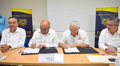 Conjuntan Voluntades la UNACH y Organización de Constructores Independientes del Estado de Chiapas