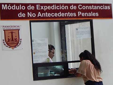 De Gran Beneficio el Módulo de Expedición de Constancias de Antecedentes No Penales: AKA
