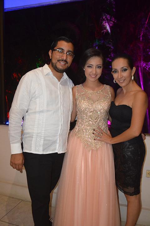 Daniel Pérez ,Samantha, Bersi de Pérez.