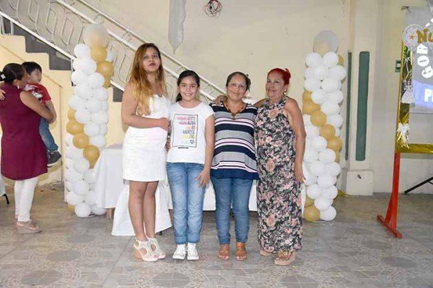 Andrea Aparicio, Danesly, Margarita Rodas, Margarita Robledo.