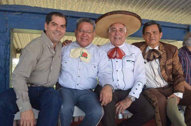 Carlos Ortega, Juan Duque, Eusebio Ortega, Juan Palacios.