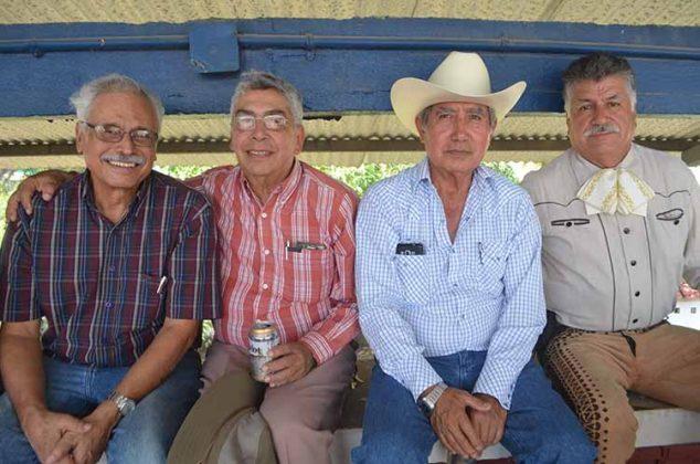 Miguel Zaragoza, Male Gehrke, Alberto Aceves, Armin Albores.