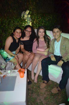 Viridiana Cruz, Jorge Moreno, Joselyn Cabrera, Verónica Colunga, Eliezel Osuna.