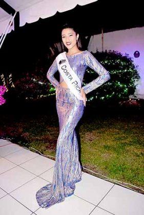 Karina Gaitan, Miss Costa Rica.