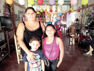 Beatriz, Brandon, Joscelin Del Toro.