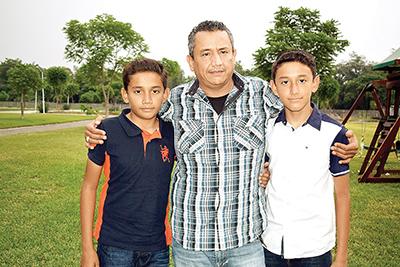 José Daniel Ruiz, Mario Ruiz Echeverría, Mario Alberto Ruiz.