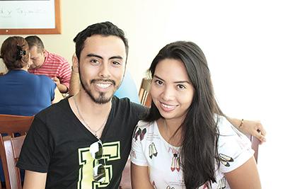 Rigoberto Montes, Erika Rivera.