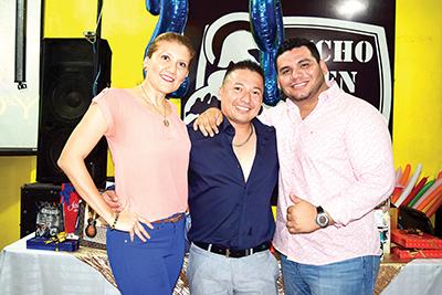 Carmen Ayala, Braulio Argueta, Paul Muñoz.