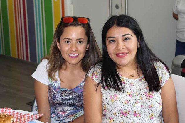 Adriana Vásquez, Adilia Gómez.