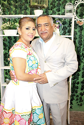 Maricruz Vázquez, Vicente Martínez.