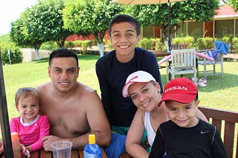 Familia Martínez.