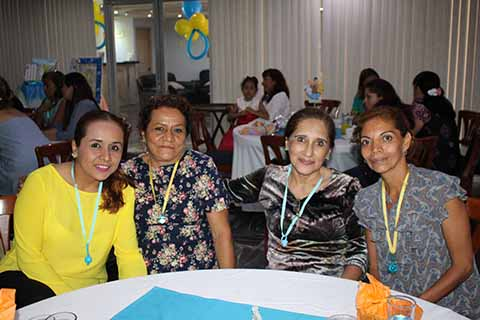 Lorena Ruiz, Margarita Juárez, Olgalidia Mota, Yara Orellana.