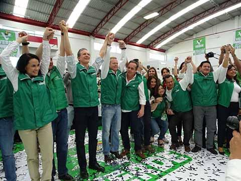 Asiste Diputado Enrique Zamora a Inicio de Campaña de Alfredo del Mazo